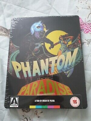 Phantom Of The Paradise Steelbook Blu-ray New and sealed Arrow