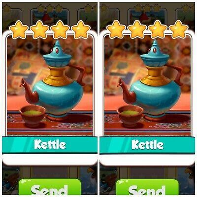 Coin Master Limited Rare Card Bundle ***2x Kettle*** Fast Delivery