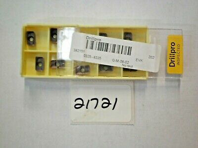 10 Pc. Apmt1135Pder-M2 Vp15Tf Carbide Milling Inserts (Yellow)  *New* Pic#21721