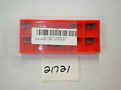 10 Pc. Apmt1135Pder-M2 Vp15Tf Carbide Milling Inserts (Red)  *New* Pic#21721-1
