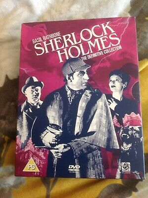 Sherlock Holmes - The Definitive Collection  Digitally Remastered DVD Box Set