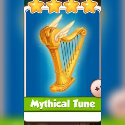 Coin Master Card ***Mythical Tune*** Fast Delivery