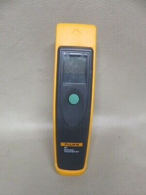 Fluke 61 handheld infrared thermometer no contact 0-525 degree f for hvac tech