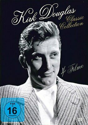 Kirk Douglas - Classic Collection (4 Filme)  [DVD]  (Neu & OVP)