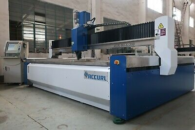 Accurl USA ProSeries Waterjet Cutting Machine - 60,000 psi ( Omax Flow Hornet )