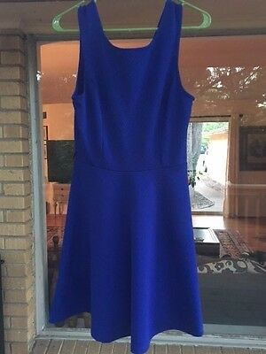 STUNNING SEXY Women's Royal Blue Dress CITY TRIANGLES Form Fitting Size 5