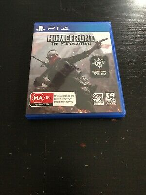 Homefront: The Revolution Bonus (Sony PlayStation 4, 2016) PAL