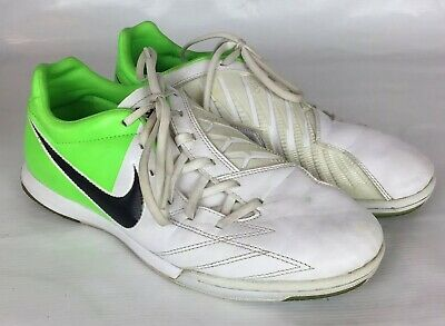 a35254a0d Nike Sz 9.5 Mens Rare T90 Shoot IV IC Indoor Soccer Shoes 472558-170 White