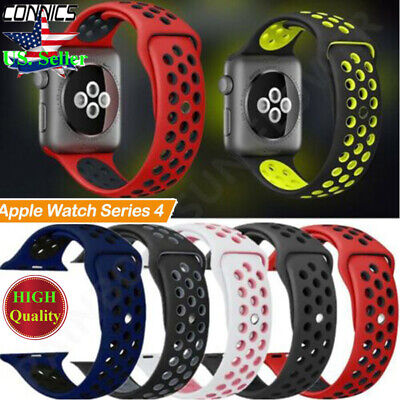 Sport Silicone Wrist iWatch Strap Band Fr Apple Watch SERIES 2 3 4 38/42/40/44mm