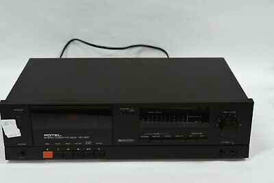 Rotel RD-830 Stereo Cassette/Tape Deck Component