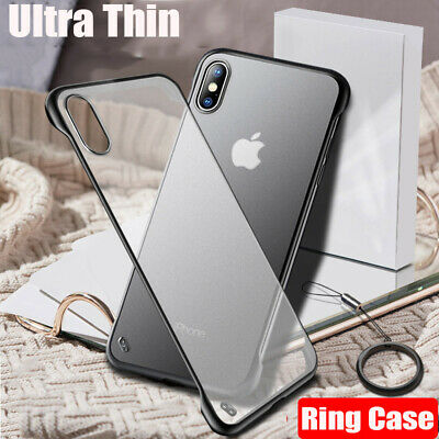 For iPhone XS / XR / XS Max /X Luxury Shockproof Ultra-thin Slim Back Case Cover