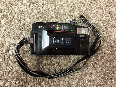 Ricoh FF-3 AF Super Film Camera Rikenon Lens f=35mm BEAUTIFUL CONDITION !!