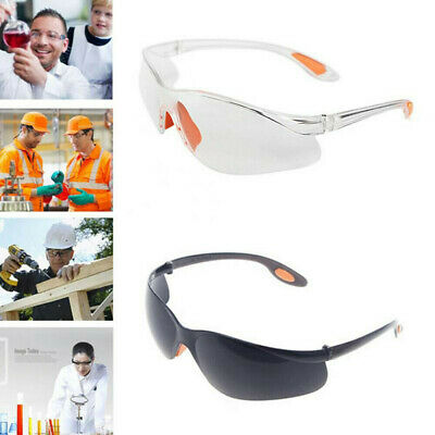 Anti-dust Factory Lab Outdoor Work Clear Goggles Safety Eye Protective Glasses