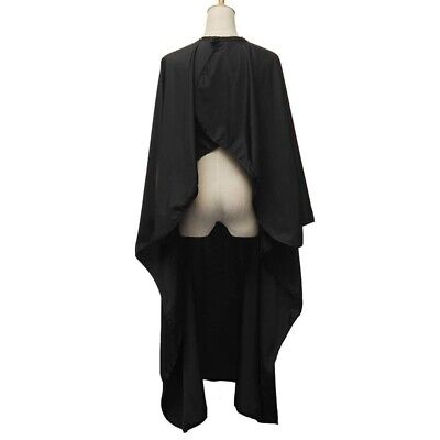 Pro Salon Apron With Viewing Window Hairdresser Barber Hair Cutting Gown Cape