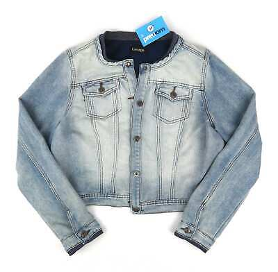 George Womens Size 18 Blue Denim Jacket