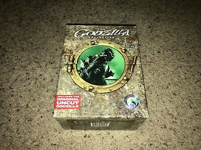 Godzilla Toho Master Collection (DVD, 2007, 8-Disc Set) PLEASE READ DESCRIPTION!