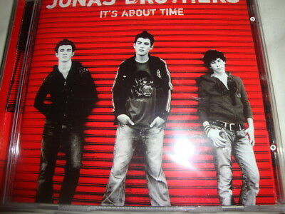 Jonas Brothers  - It's About Time (CD 2006)  NEW