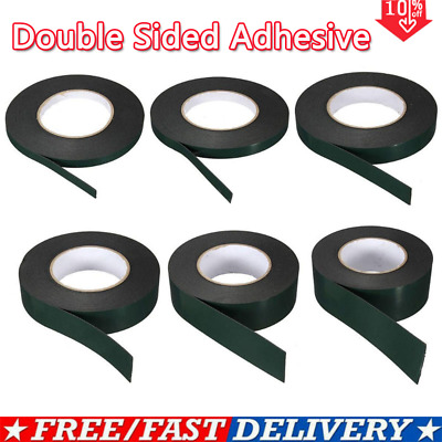 10m Super Strong Permanent Double Sided Adhesive Foam Tape  Car Trim Body.Kit