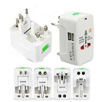 Universal Travel Power Charger  Adapter Plug Converter USB Port Portable.Charges