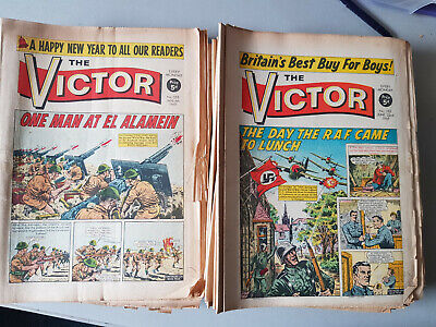 VICTOR COMIC A collection of 51 issues from 1968
