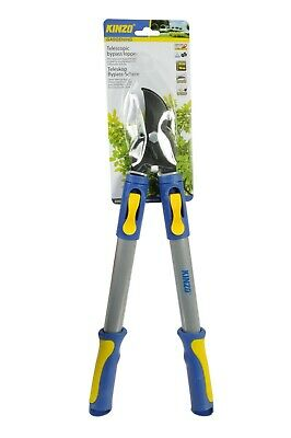 Telescopic Bypass Lopper Extending Handles Garden Tree Branch Pruner Shears
