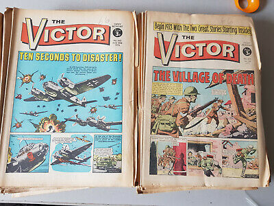 VICTOR COMIC No. 620-671 from 1973 - FULL YEAR!!