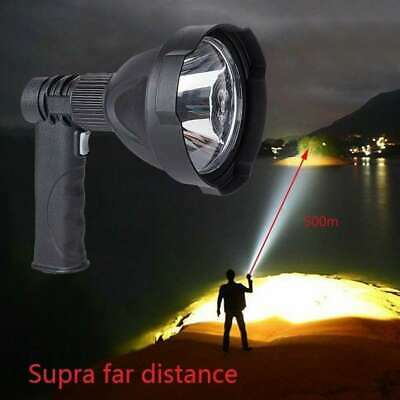 LED Handheld Camping Spotlight Rechargeable Torch Hunting Fishing Spot Light US