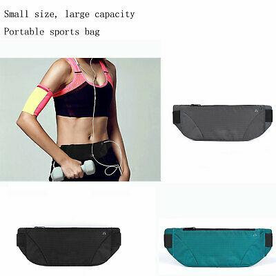 Running Belt, Gym Waist Pouch Runners Bum Bag & Jogging Phone Holder Pro