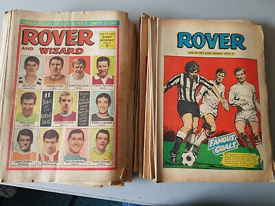 ROVER & WIZARD COMIC 52 issues from 1969 - FULL YEAR!!