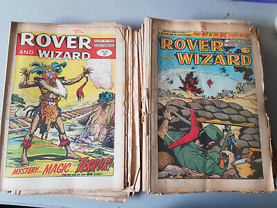 ROVER & WIZARD COMIC 47 issues from 1964