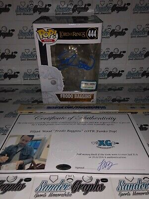 Elijah Wood Frodo Lord Of The Rings Signed Autographed Funko Vinyl Pop-Proof Coa