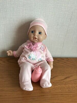 My First Baby Annabell Doll With Outfit Hat And Bottle