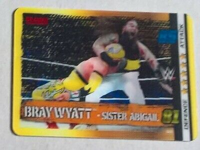 WWE SLAM ATTAX 10th EDITION,  LIMITED EDITION MOTION  CARD,  BRAY WYATT