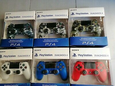 Joystick ps4 wireless dualshock.4 v2 Sony controller playstation 4 nuovo joypad