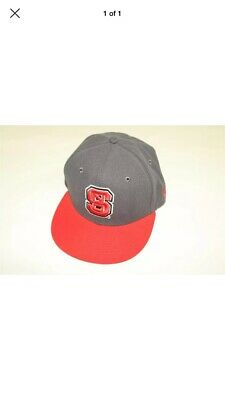 quality design 61b23 a5c6d North Carolina State Nc Wolfpack New Era 59Fifty Youth Fitted 2-Tone Hat 6 3