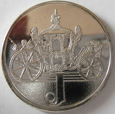 A to Z 10 Pence coin J for Jubilee a Celebration to remember the is year 2018.,