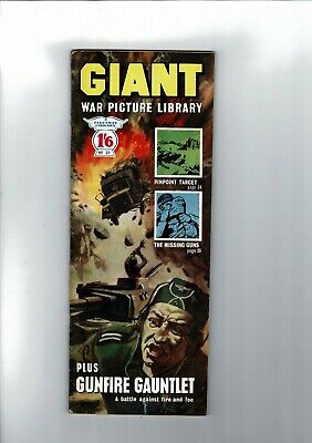 GIANT WAR PICTURE LIBRARY No. 31 from 1965  1'6 Fleetway Library
