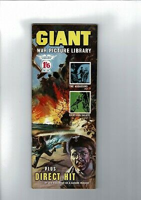 GIANT WAR PICTURE LIBRARY No. 32 from 1965  1'6 Fleetway Library