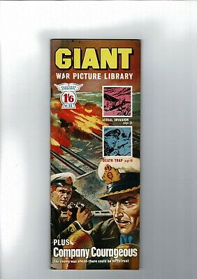 GIANT WAR PICTURE LIBRARY No. 33 from 1965  1'6 Fleetway Library