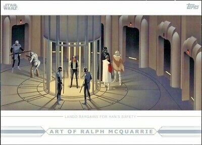 THE ART OF RALPH McQUARRIE Topps STAR WARS DIGITAL Card Trader LANDO BARGAINS