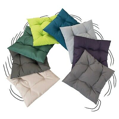Multipacks Garden Waterproof Cushion Seat Pads Tufted Outdoor Chair Furniture