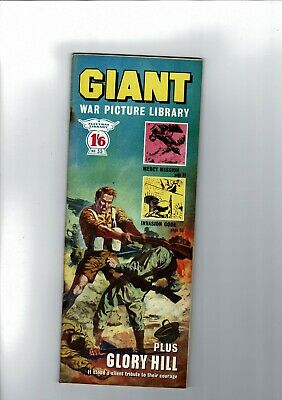 GIANT WAR PICTURE LIBRARY No. 35 from 1965  1'6 Fleetway Library