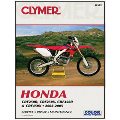 2004 Honda CRF250R Honda 4-Stroke Manual