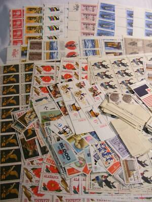 U.S. Postage Stamp Lot   Over $100 Face Value   New Useable Stamps    Group 1