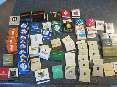 MATCH BOOK BOX collection HOTEL Motel  Best Western Travelodge Hyatt lot VINTAGE