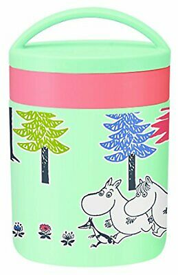 Cool and Hot Insulated Soup Jar 300ml Moomin Forest F/S w/Tracking# Japan New