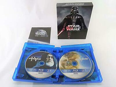 Star Wars I II III IV V VI Complete Saga Blu-ray Collection F/S w/Tracking# NEW