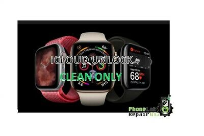 Icloud Unlock Removal Service Iwatch Serie 4