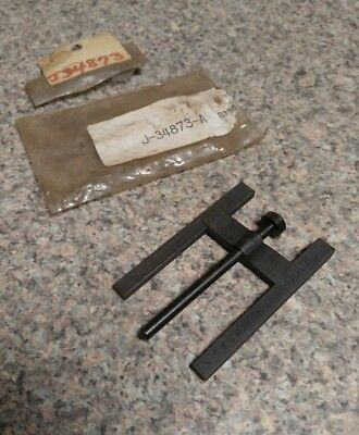 Vintage Kent-Moore Brake Booster Piston Rod Gauge Tool ~ J-34873-A ~ USA ~ NOS?