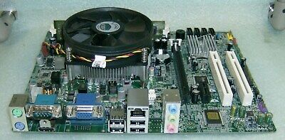 ECS H61H2-WM BOARD w/Pentium DC Socket 1155 CPU+ 2gb DDR3 RAM +I/O